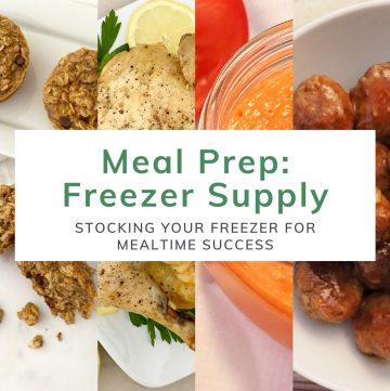 Meal Prep Freezer Supply