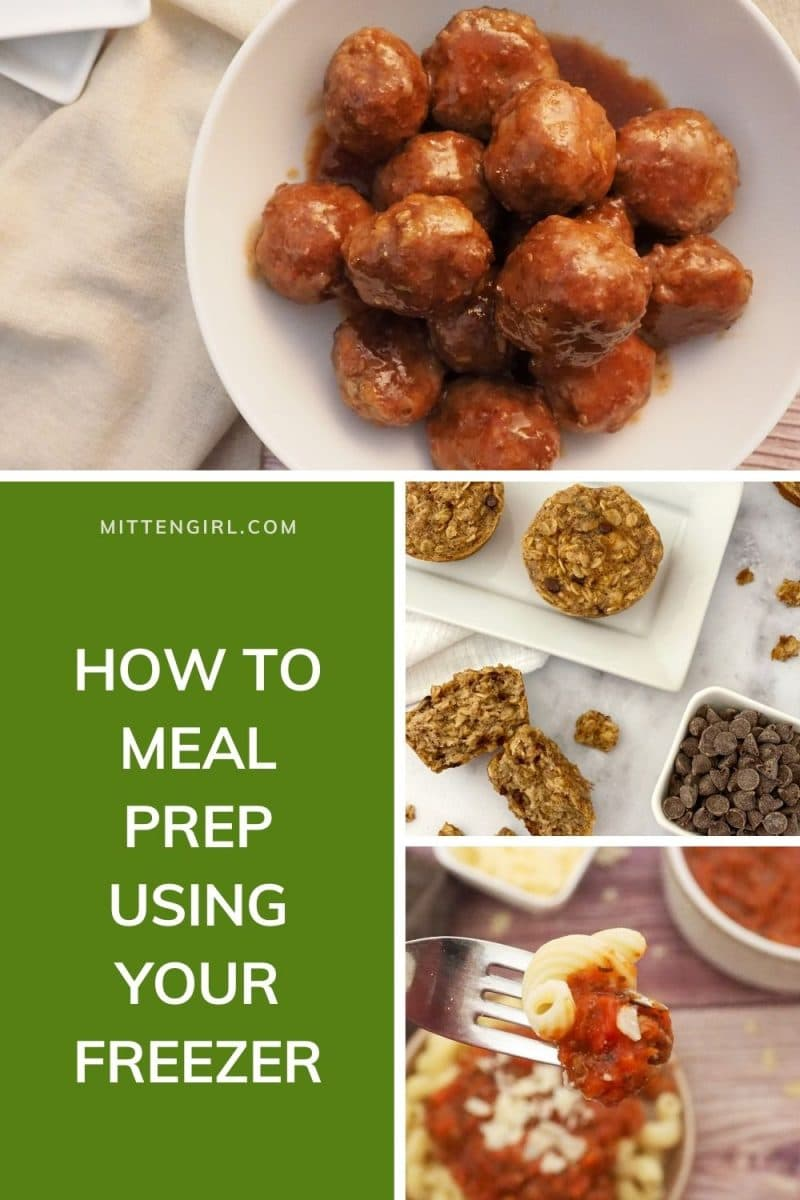 How to meal prep using your freezer