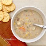 Potato, Corn and Sausage Chowder