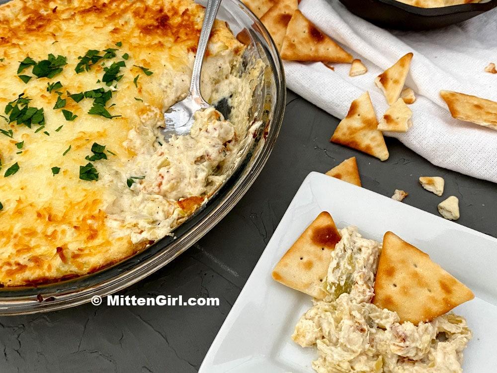 Three Cheese Artichoke Dip