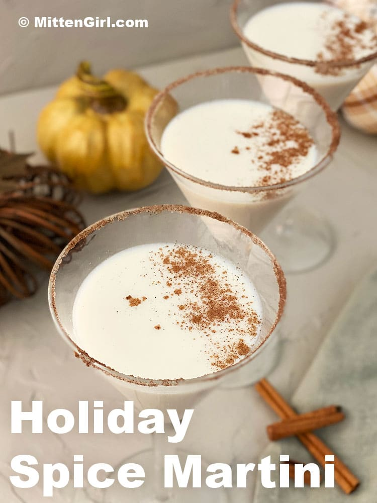 Holiday Spice Martini