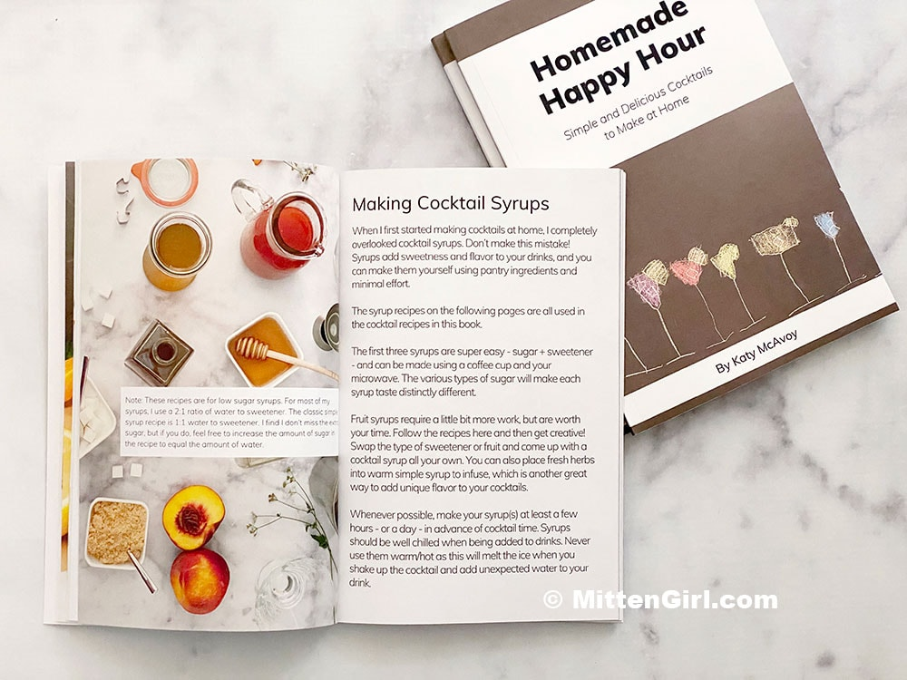 Homemade Happy Hour, the book