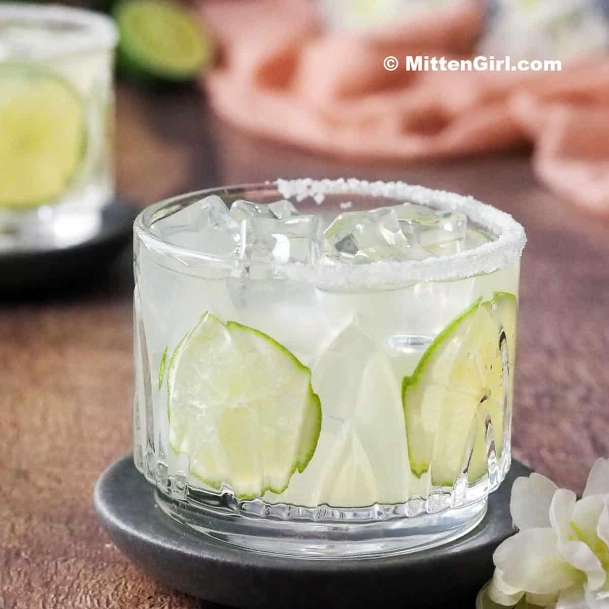 Elderflower Margaritas