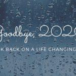 Good bye, 2020