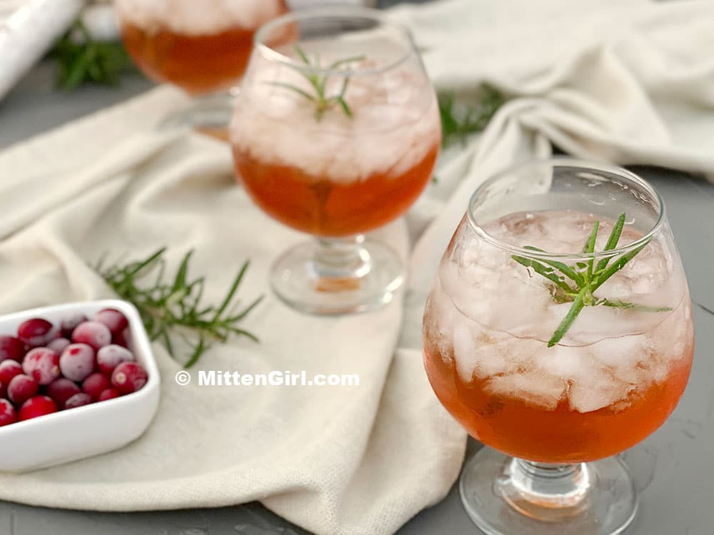 Cranberry Gin Cocktail