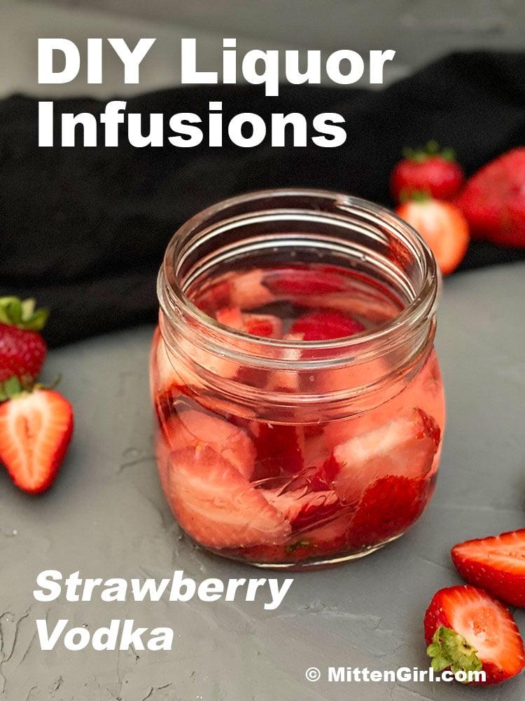 DIY Strawberry Vodka