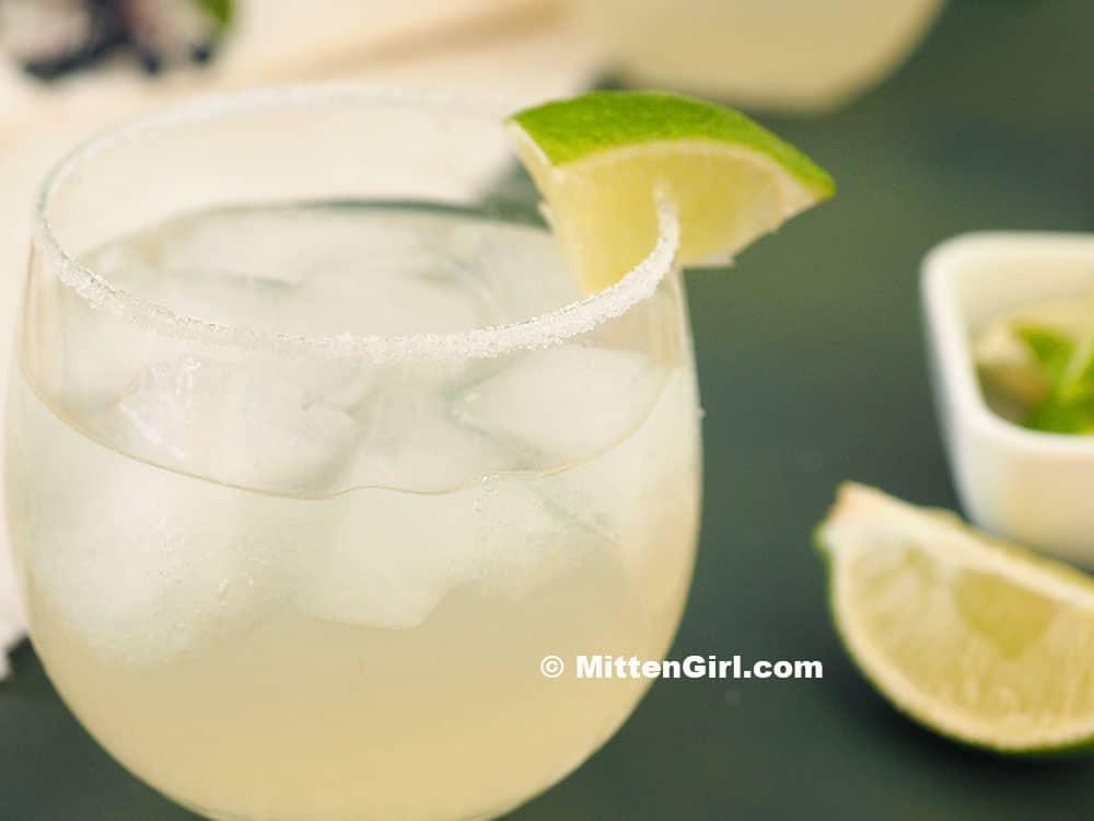 Elderflower Margarita