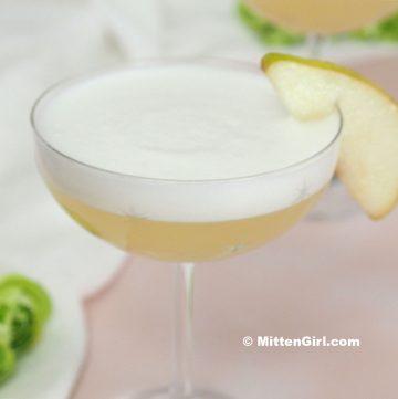 Pear Vodka Sour