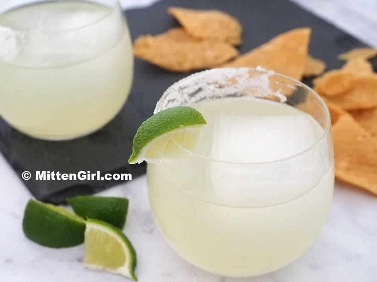 Classic Margarita on the rocks