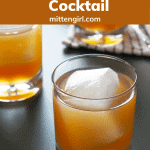 Brown Sugar Grapefruit Cocktail