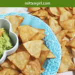 Pin for homemade tortilla chips