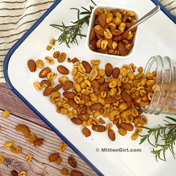 Slow Cooker Savory Spiced Nuts