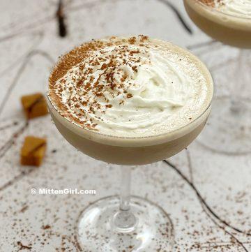 Chocolate Caramel Martini