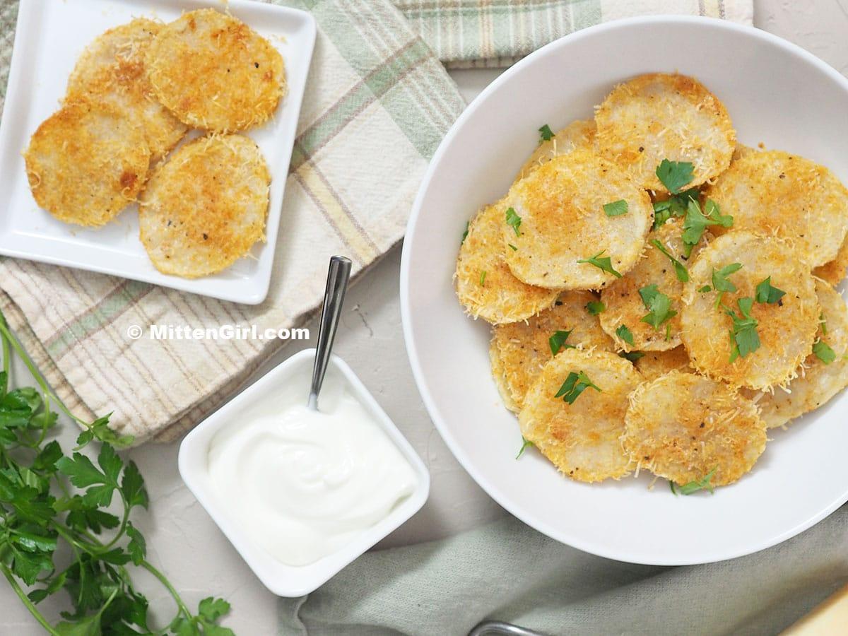 Parmesan Potato Rounds