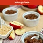 Apple Cider Applesauce