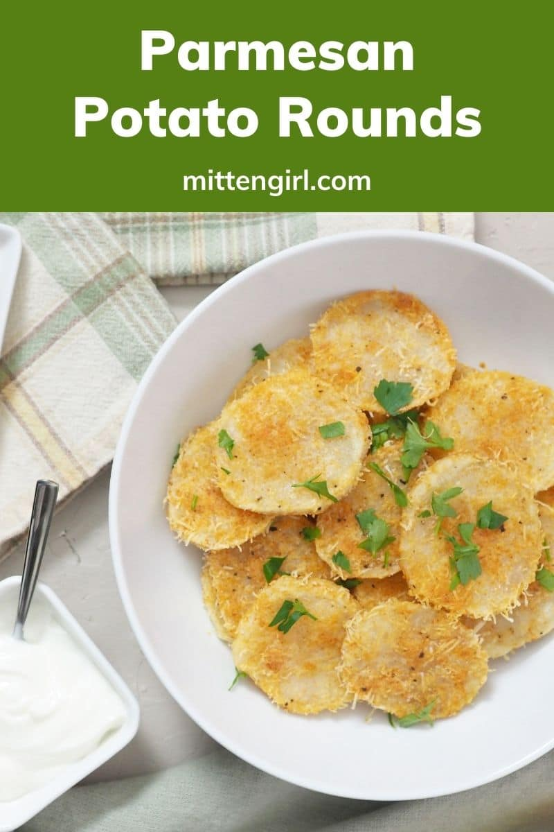 Pin for Parmesan Potato Rounds