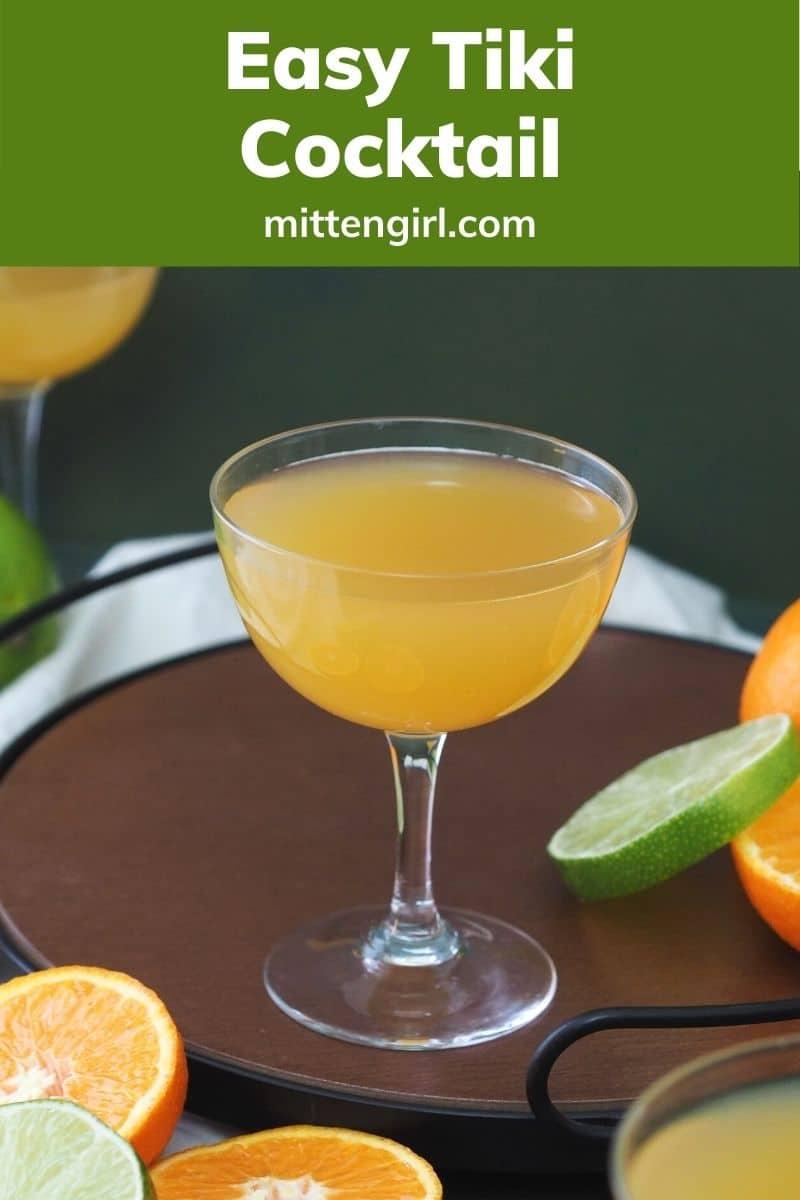 Easy Tiki Cocktail