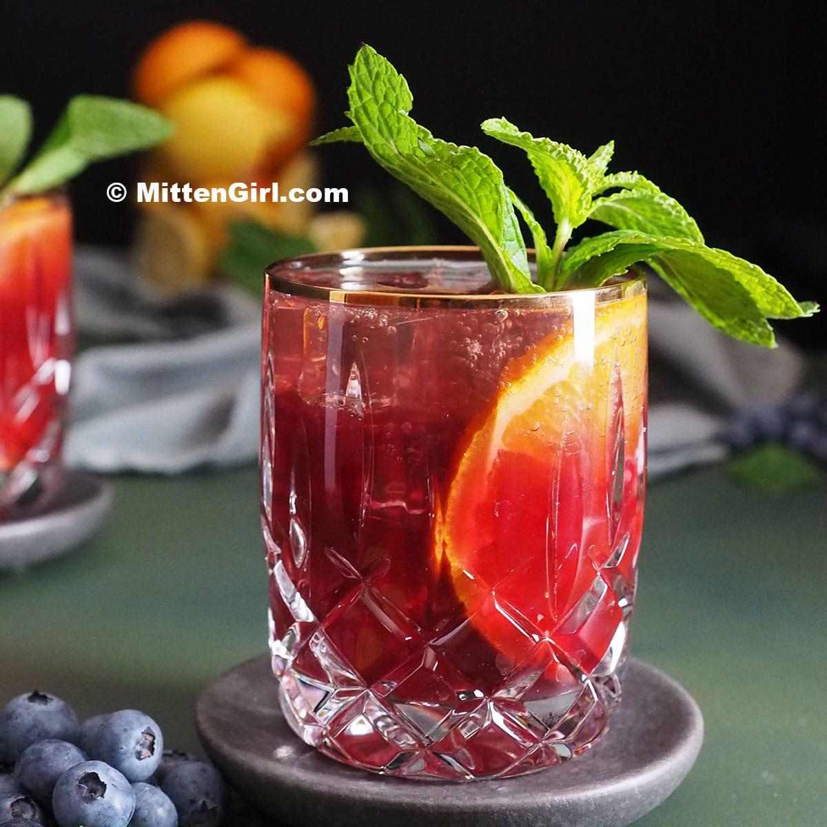 Blueberry Citrus Julep