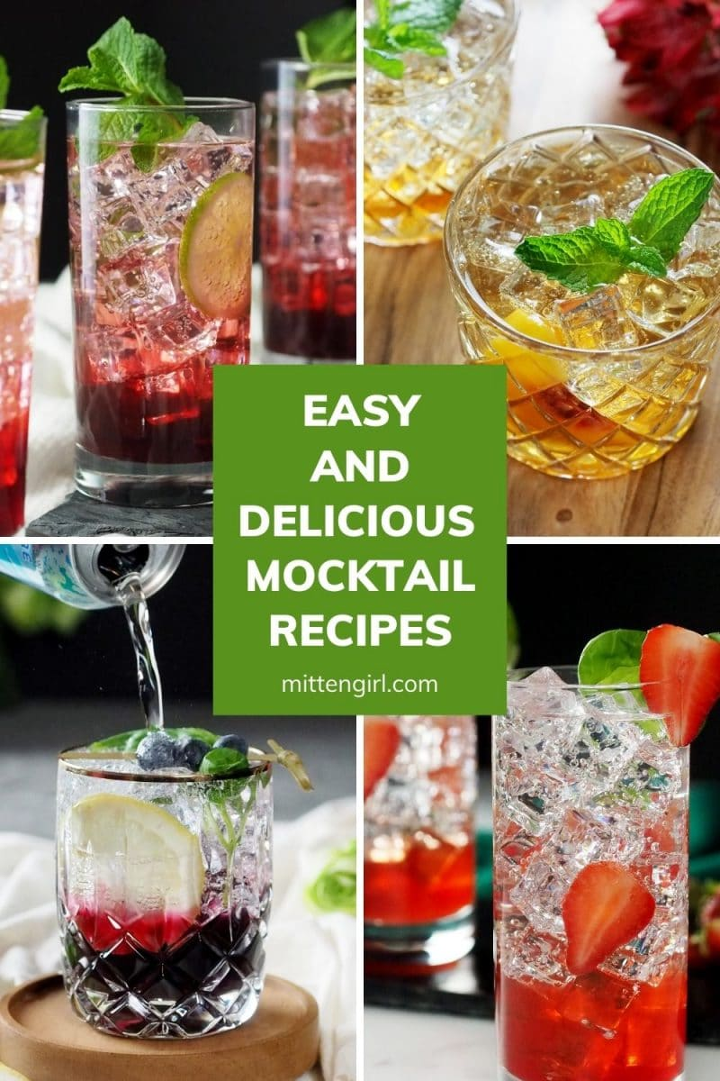Easy and Delicious Mocktail Recipes