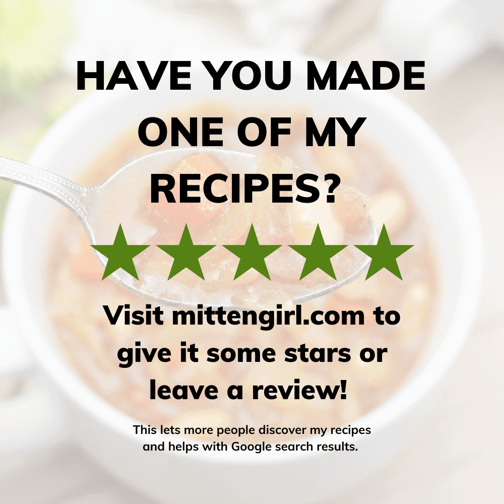 Have you made one of my recipes?