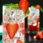 Strawberry Basil Mocktail