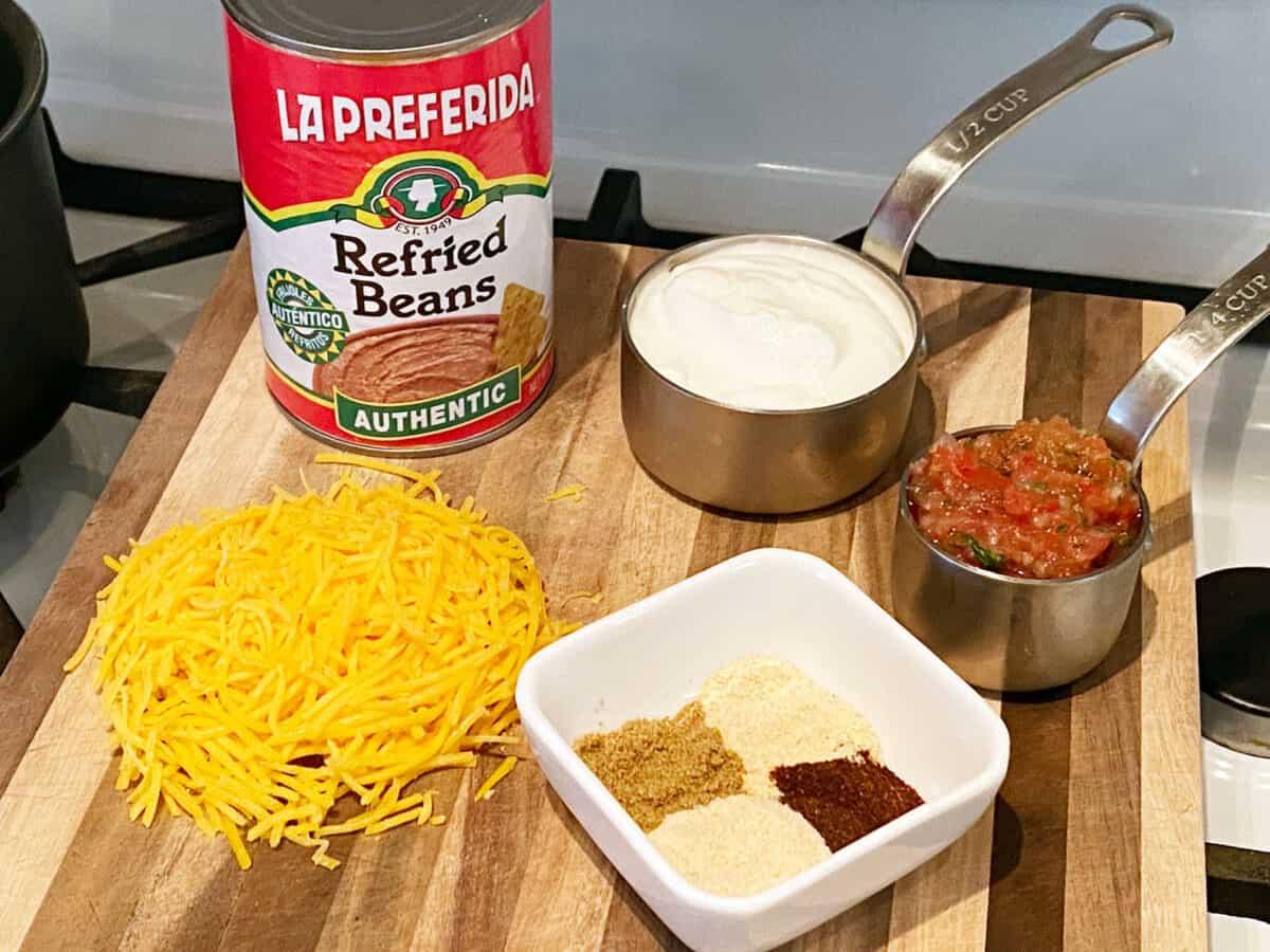 Ingredient for Bean DIp