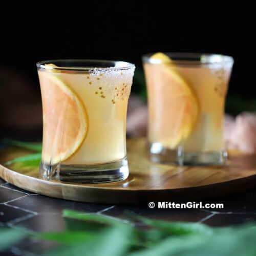 Grapefruit and Elderflower Cocktails