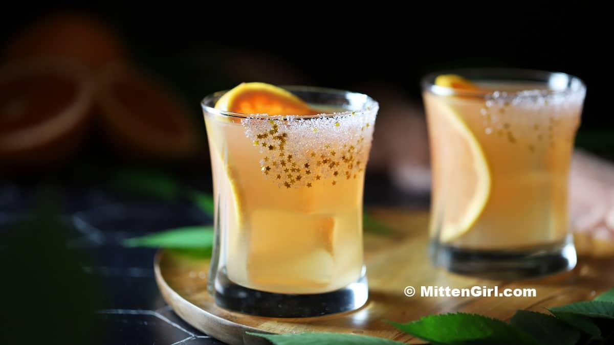 Grapefruit & Elderflower Cocktails
