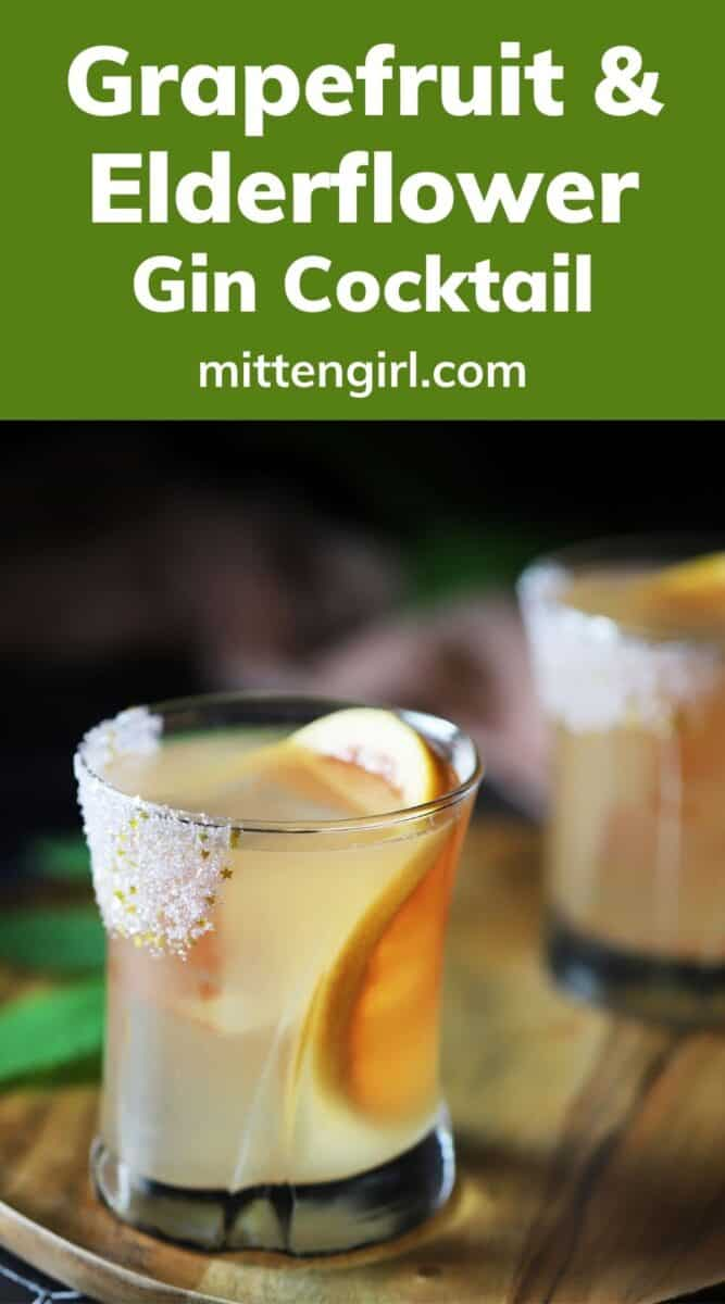 Grapefruit & Elderflower Cocktail